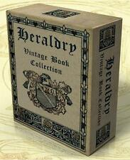 HERALDRY 217 Rare Vintage Books on DVD + 710 hi-res Images, Genealogy, Devices