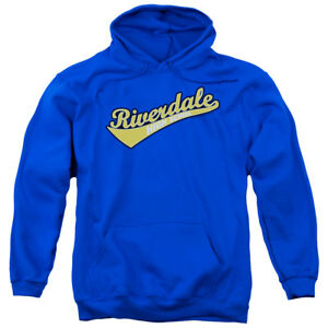 Archie-Comics-RIVERDALE-HIGH-SCHOOL-Logo-Licensed-Sweatshirt-Hoodie
