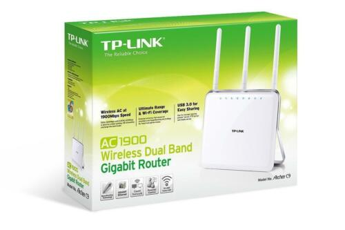 1 of 1 - New TP-LINK Archer C9 Wireless AC1900 WiFi Dual Band Gigabit Router
