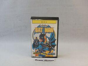 Bat-Man-Batman-from-Ocean-msx-Cassette-Original-Complete