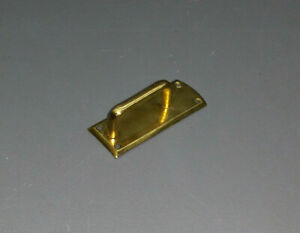 M025 brüniert Alter Möbelgriff aus Messing 5,1 cm