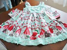 Bodyline Sweet Lolita Mint Green Strawberry Shortcake JSK Dress Size M NWT