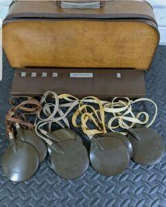 Vintage SLENDERTONE 1970's Total Body Muscle Body Toning Machine/Retro/Batteries