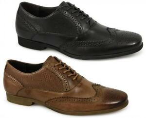 Front Front Front LAGOON  Herren Perforated Leder Brogue Smart Office Dress Schuhes ... 90b191