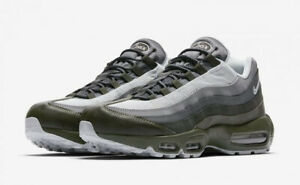 Details about NEW 749766 302 MEN'S NIKE AIR MAX 95 ESSENTIALCARGO KHAKIPURE PLATINUM