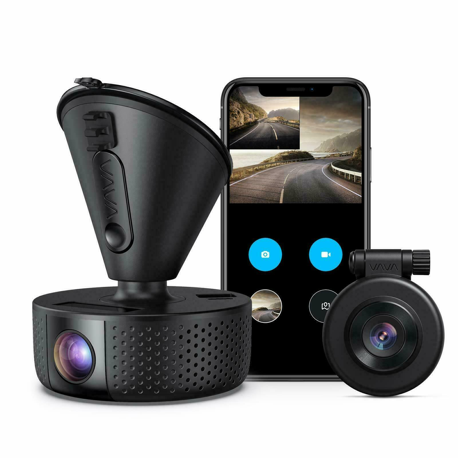 Dual Dash cam VAVA Dual 1920x1080P FHD Front and Rear Dash Camera 2560x1440P ... 1920x1080p and cam camera dash dual Featured fhd front rear vava