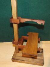Movimento OROLOGIO universale banco di prova realizzato in legno duro recuperata si adatta maggior parte dei tipi
