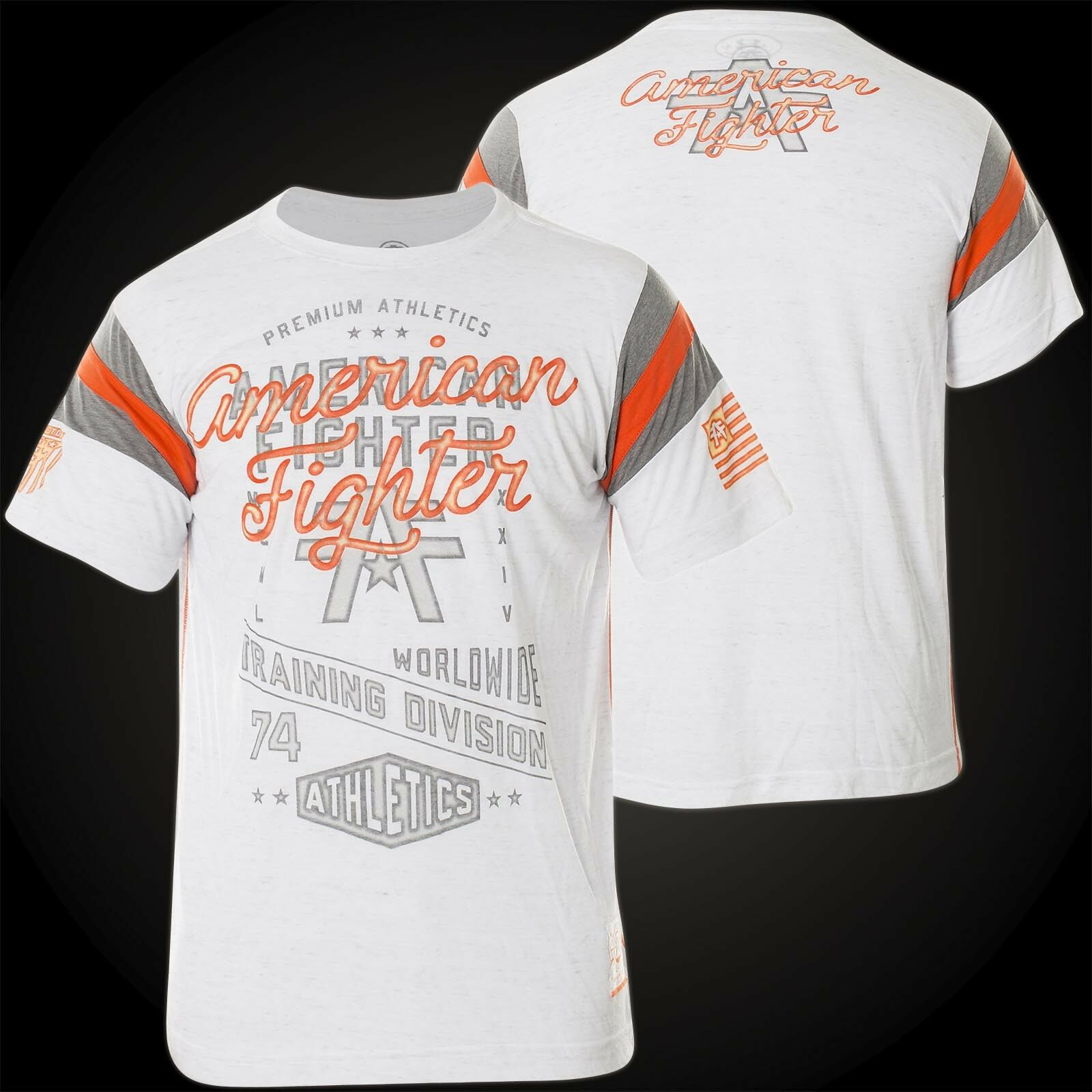 American Fighter by Affliction T-Shirt Almighty White