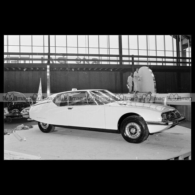 #pha.018751 Photo CITROËN SM 1971 Car Auto