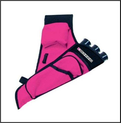 Bohning Mini Target Quiver Left Hand Hot Pink