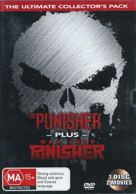 The Punisher / War Zone Punisher - Action - Thomas Jane, John Travolta - NEW DVD