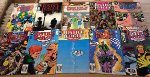 Justice-League-America-BIG-LOT-52-JLA-DC-comics-1987-96-Annuals-FN-VF-Batman