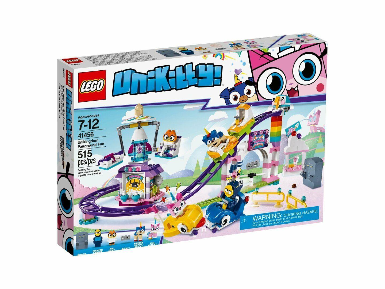 Lego Pelíc . Unikitty  ™ 41456 Einhorn-Kittys Reino de – Jahrmarktspaß Nuevo