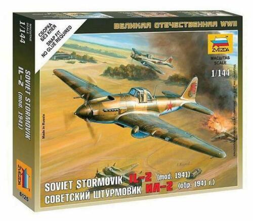 Soviet Stormovik IL-2 mod.1941 1:144     Zvezda 6125  New !