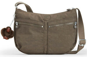 Kipling-Basic-Eyes-wide-open-izellah-MEDIUM-SHOULDERBAG-True-Beige-Marrone
