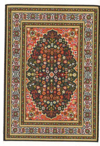 "Dollhouse Miniature Beautiful Woven Turkish Rug 4/"" x 5/"" ~ S110-12  NEW"