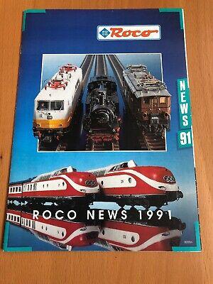 100% Vero Roco Catalogo Modello Treno Modellismo News 1991- Servizio Durevole