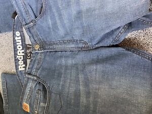 Red-Route-motorcycle-jeans-36-Short-made-with-Kevlar