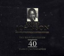 Robert Johnson - Gold Collection  (NEW SEALED 2CD)