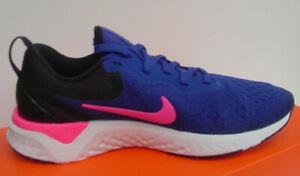 Détails sur Nike Femmes Chaussures Royal Bleu Rose Noir Odyssey React AO9820 403 Sz 6 10 Nib