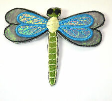 """#4352 2 3//8/"""" US Dragonfly Embroidery Iron On Applique Patch"""