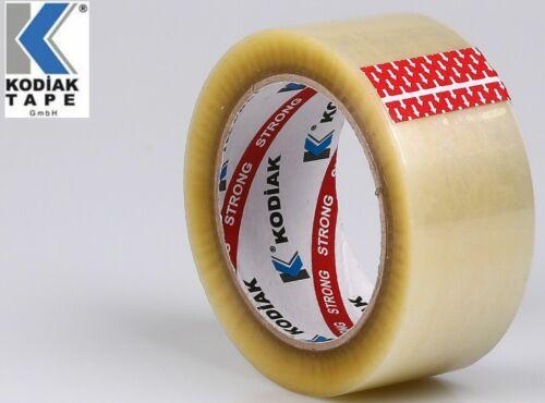 36 Rollen Paketklebeband Verpackungsklebeband Packband 50mmx66m STRONG Hotmelt