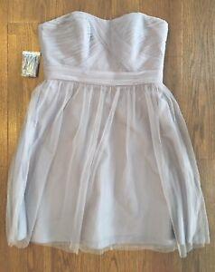 David-s-Bridal-Bridesmaid-Dress-Short-Strapless-Tulle-With-Full-Skirt