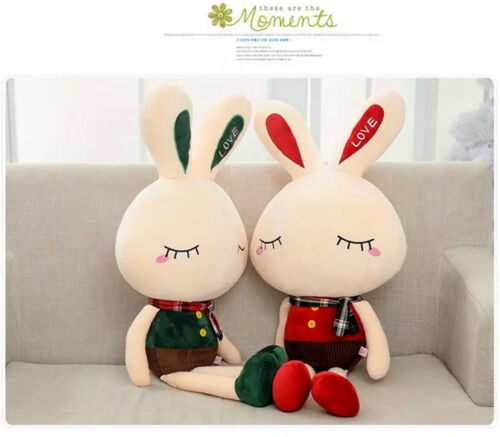 Cute Stuffed Rabbit Plush Baby Toys Kids Soft Bed Pillow Toy Doll Holiday Gift