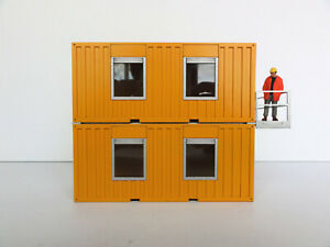 HIMOBO-20-FT-LIVING-OFFICE-CONTAINERS-034-YELLOW-034-1-50-034-NEW-034-NICE-ACCESSORY