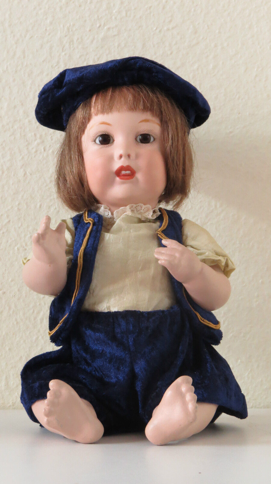 SFBJ    251   38 cm   15,2 Inch    Poupée Ancienne Reproduction Antique Doll