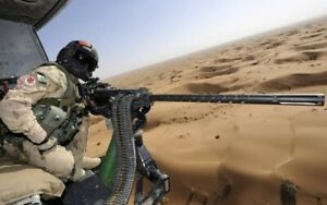 PLAQUE EN MÉTAL guerre arme militaire    30 X 20 CM
