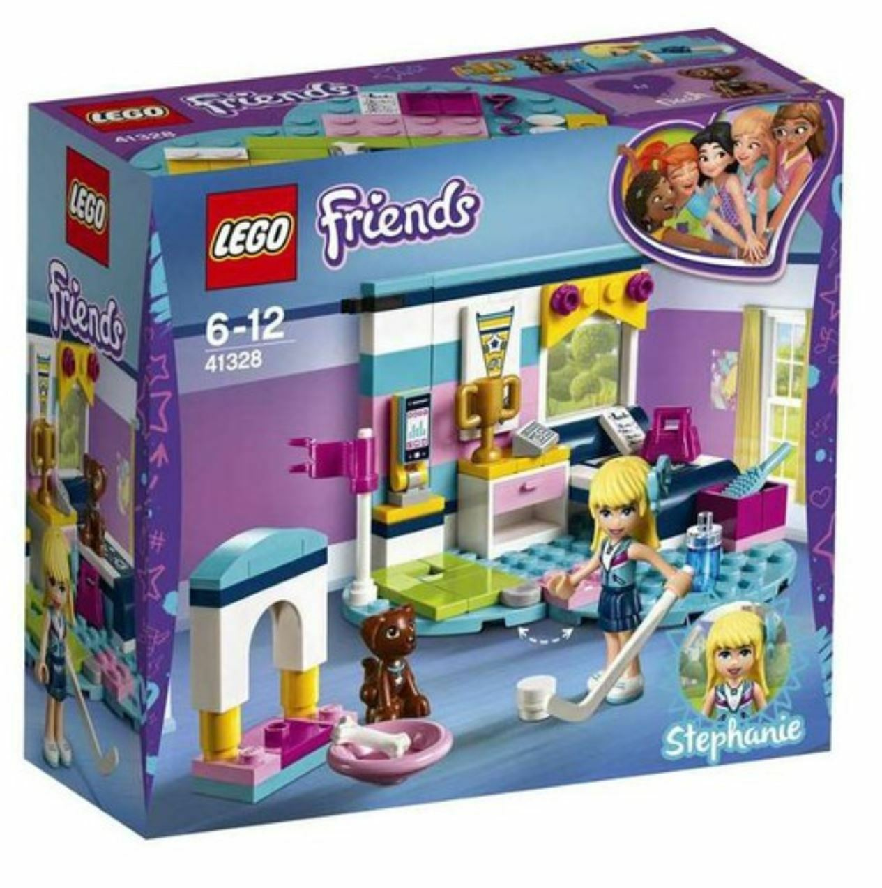 [LEGO] Friends Stephanie's Bedroom 41328 2018 Version Free Shipping