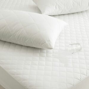 Quilted Waterproof Mattress Pillow Cot Protector All Sizes In Stock Deep Fitted