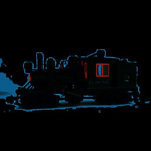 Bach 85095 camión Climax  2 Con Dos Luces, cámara de combustión, Humo NUEVO en caja de envío original