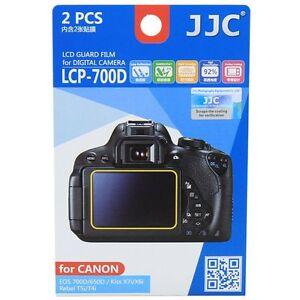 JJC-LCP-700D-LCD-Film-Protector-de-pantalla-para-Canon-750D-700D-650D-8000D-9000D