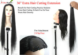 Multi-Time-Use-Your-waste-Hair-Dummy-We-Offer-36-Inch-Hair-Cutting-extension