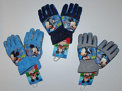 Mickey~DISNEY~Handschuhe~3-4~5-6~7-8 Jahre~Junge~Micky~Skihandschuhe~Winter