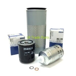 LAND-ROVER-DEFENDER-300TDI-FULL-SERVICE-FILTER-KIT-MAHLE-OIL-amp-FUEL-FILTERS-SET