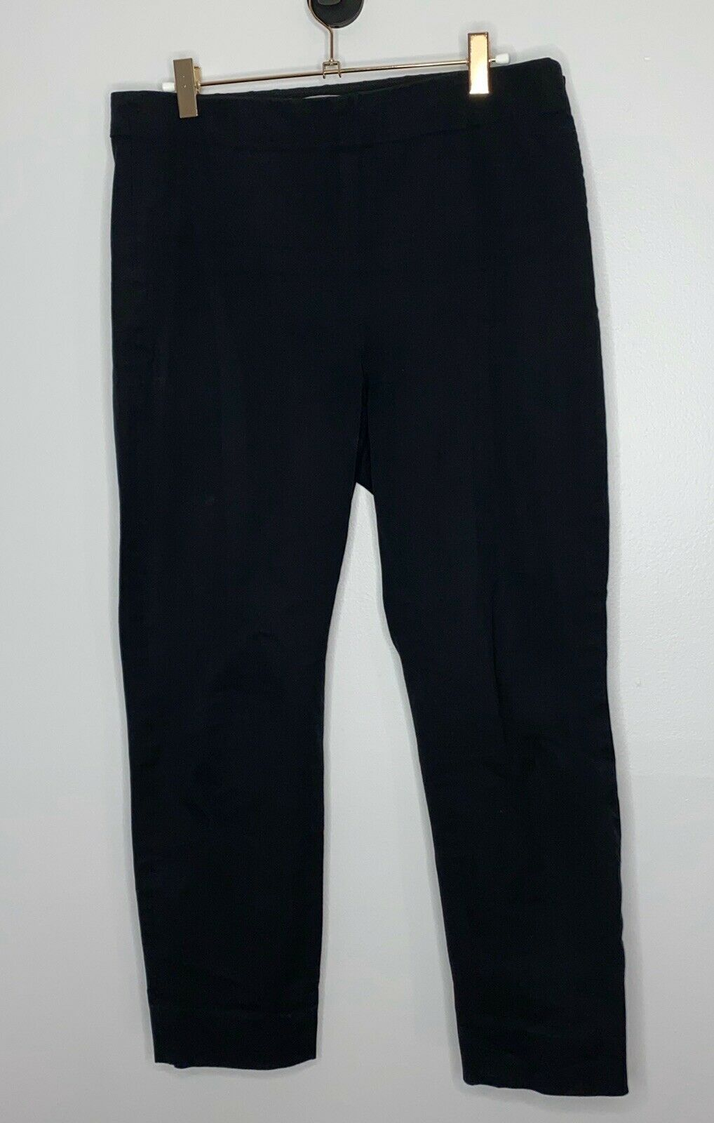 Everlane The Side-Zip Work Pants Size 12 Black Wo… - image 2