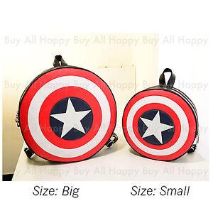 Nouveau Avengers Age de Ultron Captain America Shield Sac à dos