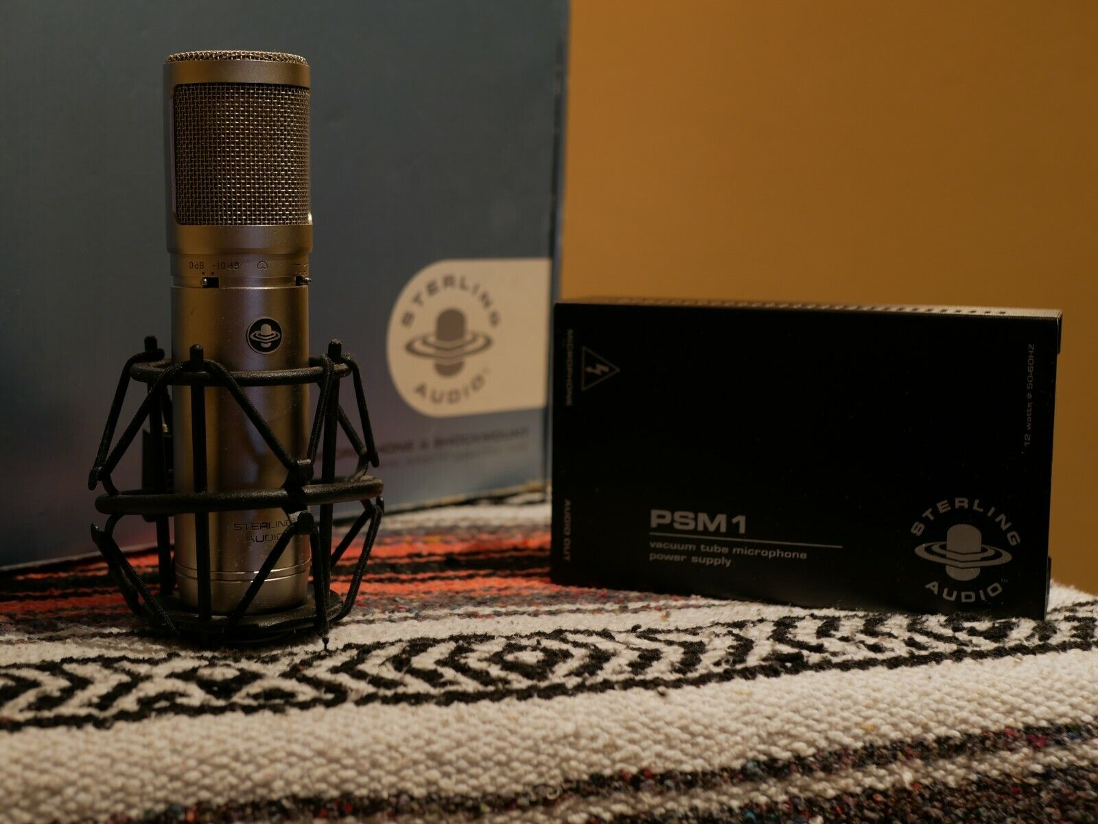 Sterling Audio ST-66 Tube Condenser Microphone. Buy it now for 235.00
