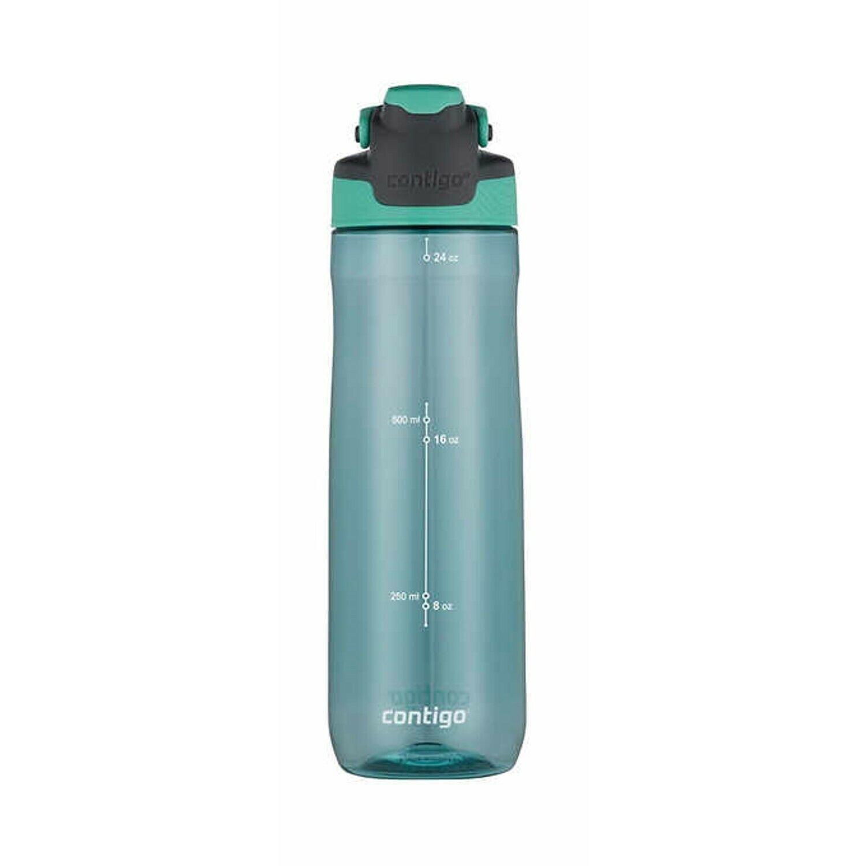 3-pack 100/% Spill-proof Water Bottle Blue,Pink, Green CONTIGO Autoseal 24oz