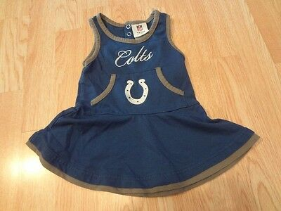 b4b5dfc4 Infant/Baby Girls Indianapolis Colts 18 Mo Cheerleader Cheer Outfit ...