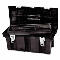 Rubbermaid Commercial Tool Box, 26in, Black - Rcp780200bla on Sale