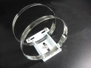CCTV Accessories Stainless Steel Hose Clamp Bracket for 50-120mm Telephone Pole