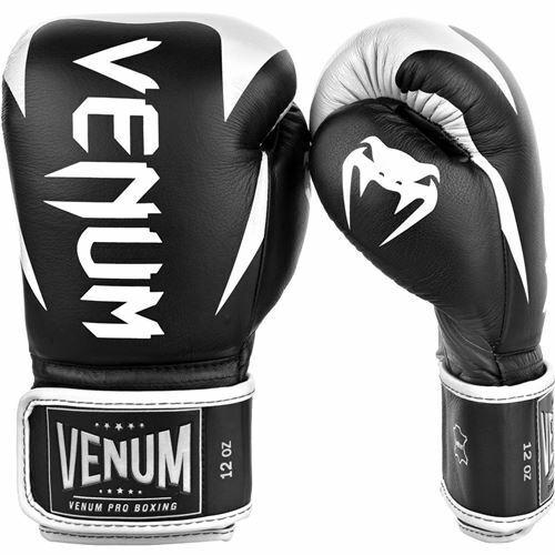 Black//White Venum Hammer Pro Boxing Gloves