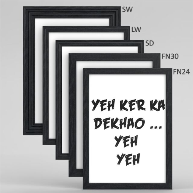 Choice Of Black Frame Types With Popular Picture Poster Frame A1 A2 A3 A4 A5