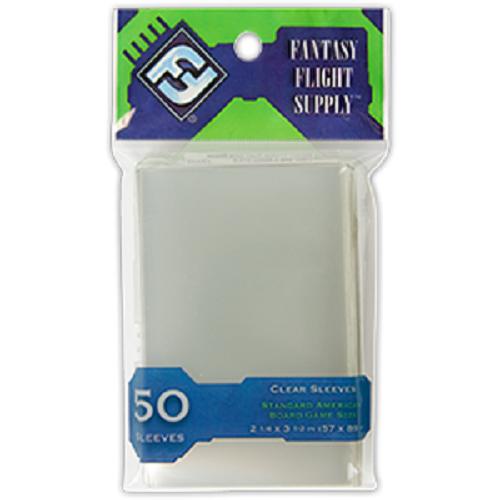 10 packs 500 Fantasy Flight Games Standard American Board Game size sleeves