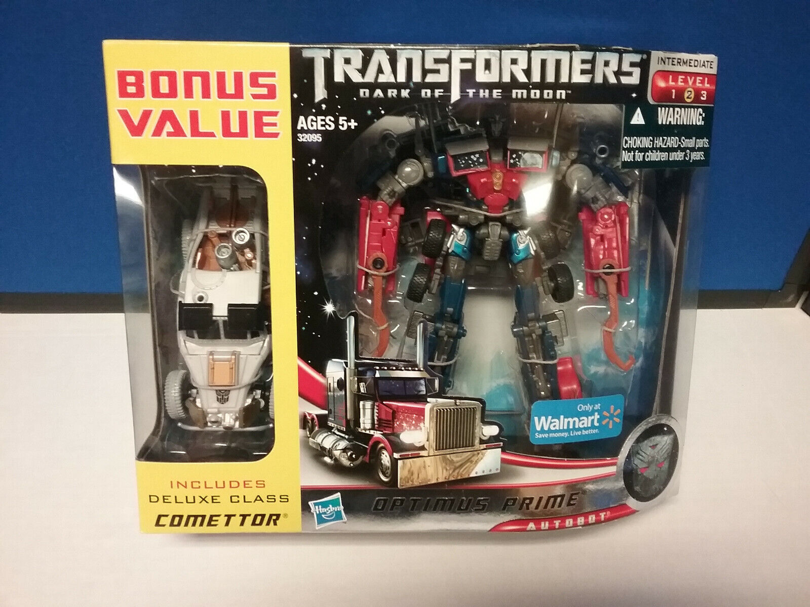 Transformers DOTM Optimus Prime Comettor Comettor Walmart EX NEW FREE SHIP US
