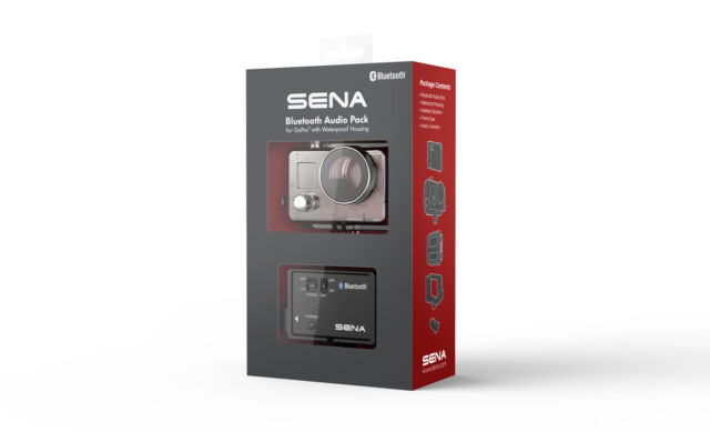 SENA Bluetooth Audio Pack w/ Waterproof Case for GoPro Hero3/3+/4 (GP10-02)
